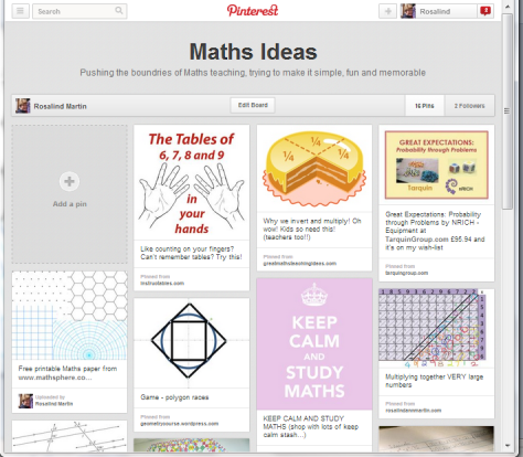 http://pinterest.com/rosalindmartin7/maths-ideas/