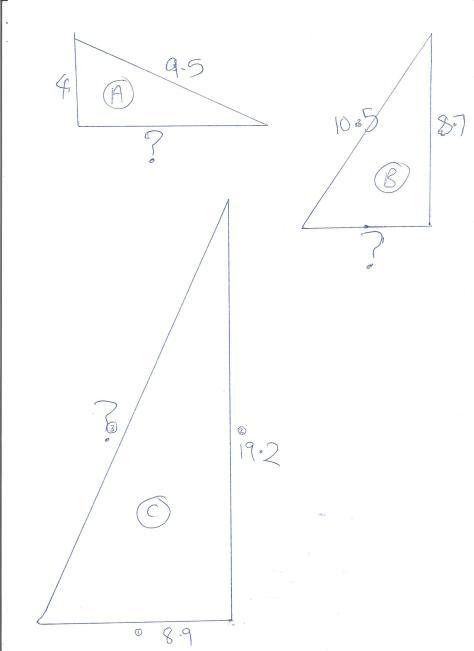 George Pythagoras Questions 001