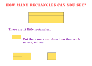 how many rectangles can you see?
