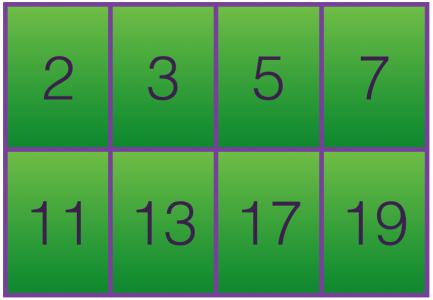 Prime Numbers Under20